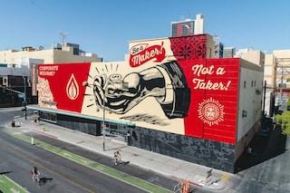 Las Vegas diventa museo a cielo aperto: la street art trasforma il centro della città