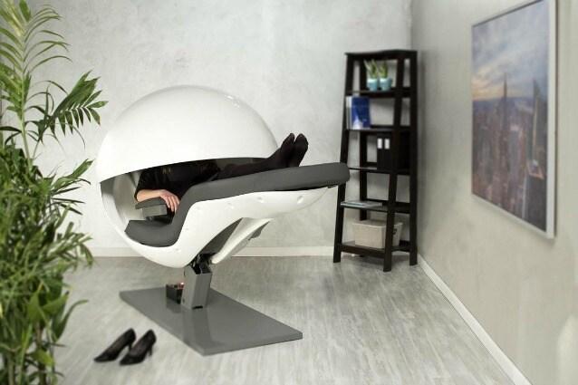 EnergyPod: la prima sedia al mondo progettata per un