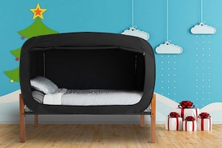 The Bed Tend: il letto che si trasforma in una fortezza è l'ideale per chi soffre d'ansia