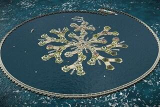 Oceano Pacifico, ecco la prima città galleggiante del mondo