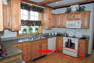 Ecco a cosa serve il vano sotto il forno della cucina
