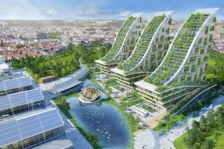 Bruxelles, l'ex area industriale diventa un eco-villaggio dove chiunque vorrebbe vivere