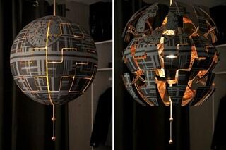Come trasformare la lampada IKEA PS 2014 nella Morte Nera di Star Wars