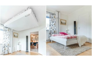 È perfetto per case con poco spazio: questo letto scompare nel soffitto