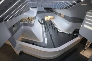 Come sarà la Stazione di Napoli-Afragola, tra le opere più attraenti del 2017 per la CNN
