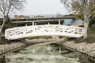 Madrid, ecco il primo ponte pedonale stampato in 3D
