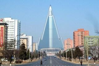 Corea del Nord, l'Hotel Ryugyong è il più grande edificio abbandonato del mondo
