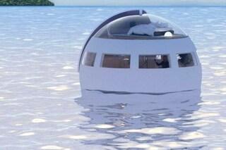 Capsule letto galleggianti per andare alla deriva: ecco l'idea di un parco a tema olandese