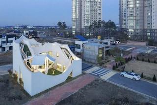 Una casa volante in Corea: ecco il progetto per un pilota e la sua famiglia