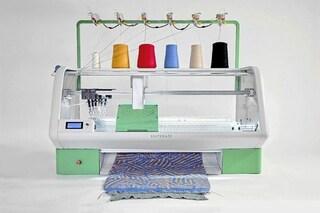 Kniterate: ecco la macchina che disegna e stampa gli abiti in 3D