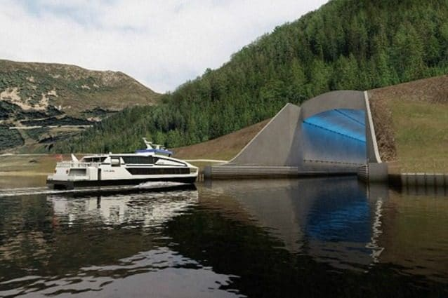 Norvegia arriva la prima galleria per navi del mondo