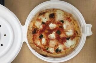 Ecco la prima scatola per pizze rotonda