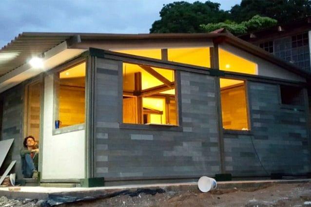 Euro per costruire casa ecco l 39 abitazione fatta di - Costruire una casa economica ...
