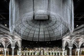 Architetture di rete metallica: il talento di Edoardo Tresoldi