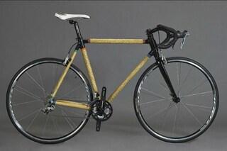 Una bici di bambù: ecco l'innovazione su due ruote