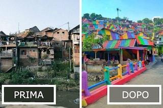 Kampung Pelangi: il villaggio arcobaleno che fa impazzire Instagram