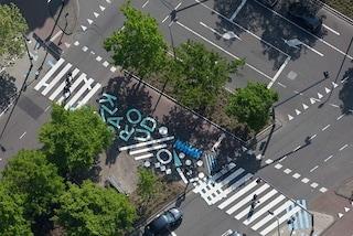 Rotterdam, arrivano le strisce pedonali creative che proteggono i pedoni