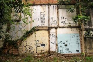 Fantasmi urbani: storie di edifici demoliti e opere di street art
