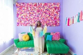 Il paradiso degli unicorni: ecco l'appartamento più colorato che abbiate mai visto