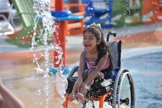Benvenuti a Inspiration Island: il primo parco acquatico al mondo per bambini disabili