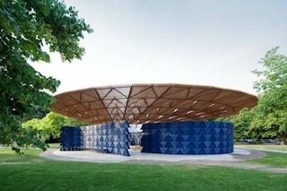 Inaugura il Serpentine Pavilion 2017: ritmi tribali nel cuore di Hyde Park