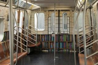 Da treno metropolitano a libreria: ecco la nuova biblioteca comunale di New York