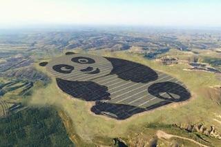 La fabbrica solare più simpatica del mondo è a forma di panda