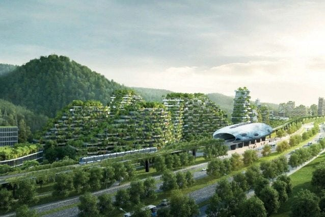 Liuzhou Forest City – Courtesy Stefano Boeri Architetti