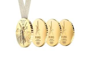 Parigi 2024: la Medaglia olimpica di Philippe Starck è pensata per la condivisione