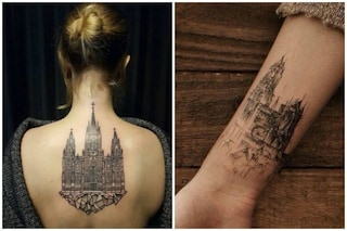 L'ultima tendenza dell'estate: i tatuaggi ispirati alle più belle architetture del mondo