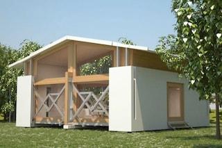 Case pronte all'uso: bastano 10 minuti per costruire queste abitazioni