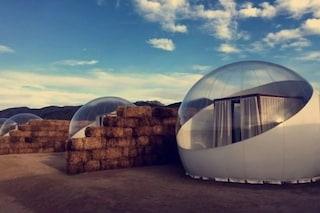 Campera Hotel: l'albergo dove le stanze sono bolle per dormire sotto 5 milioni di stelle