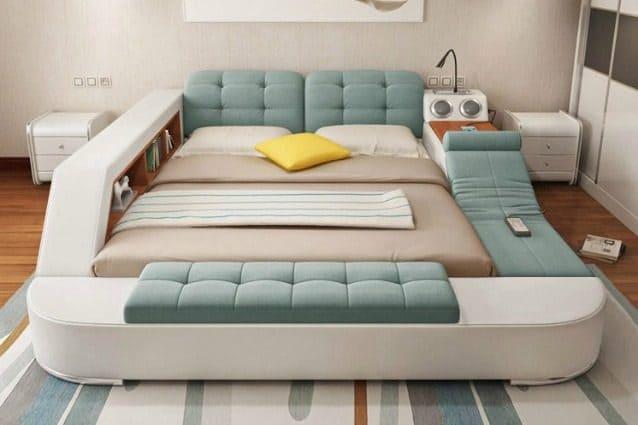 Ecco il letto multifunzionale da cui non vorrete più alzarvi