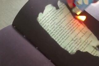 La copia termica di Fahrenheit 451, il libro che si può leggere solo vicino ad una fiamma