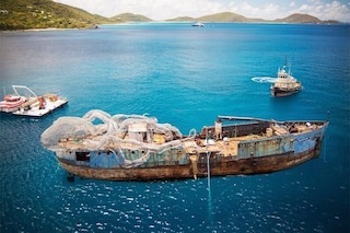 BVI Art Reef, la barriera artificiale più originale mai realizzata