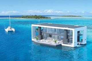 Miami, arriva la villa galleggiante che resiste agli uragani