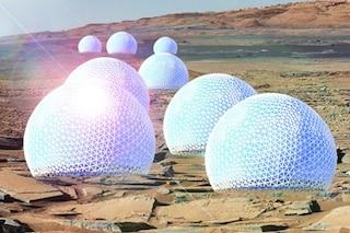 La vita su Marte: ecco come saranno le abitazioni del Pianeta Rosso