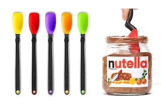 """Mini Supoon: il cucchiaio """"raschia fondo"""" che rivoluzionerà il modo di gustare la Nutella"""