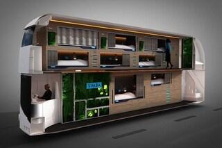 Snoozeliner, l'autobus che rivoluziona i viaggi notturni