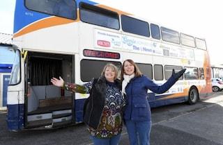 L'autobus diventa un ricovero per i senzatetto: il progetto dei cittadini di Portsmouth