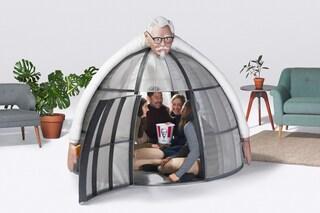 KFC: ecco la tenda da 5.000 dollari per le festività natalizie