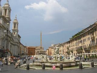 Piazza Navona a Roma: la strana storia dietro la Fontana dei Quattro Fiumi