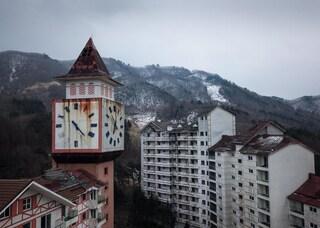 Corea del Sud, la stazione sciistica abbandonata di Sokcho