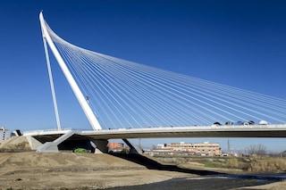 Cosenza, il ponte di Calatrava è il più alto d'Europa