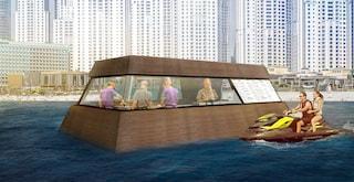 Aqua Pod: la prima cucina galleggiante al mondo
