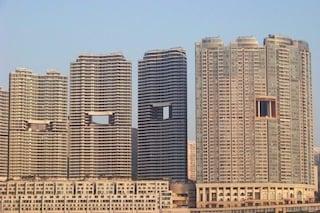 Ecco perché alcuni grattacieli di Hong Kong hanno dei buchi sulla facciata