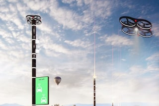 Smart Highway: droni e pali volanti sulle autostrade italiane