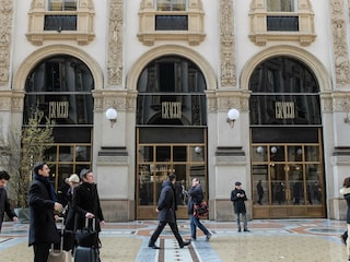 Milano, nel ristorante Cracco in Galleria Vittorio Emanuele II