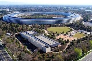 Apple Park troppo trasparente: quando l'uso del vetro è eccessivo