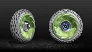 Oxygene, lo pneumatico di muschio che pulisce l'aria mentre si guida